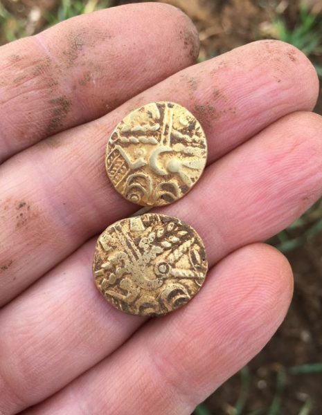 Keltische Goldmuenzen